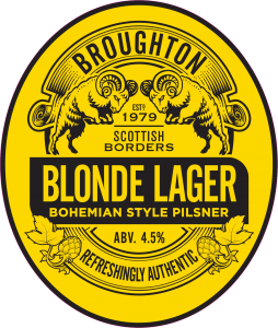 broughton blonde lager