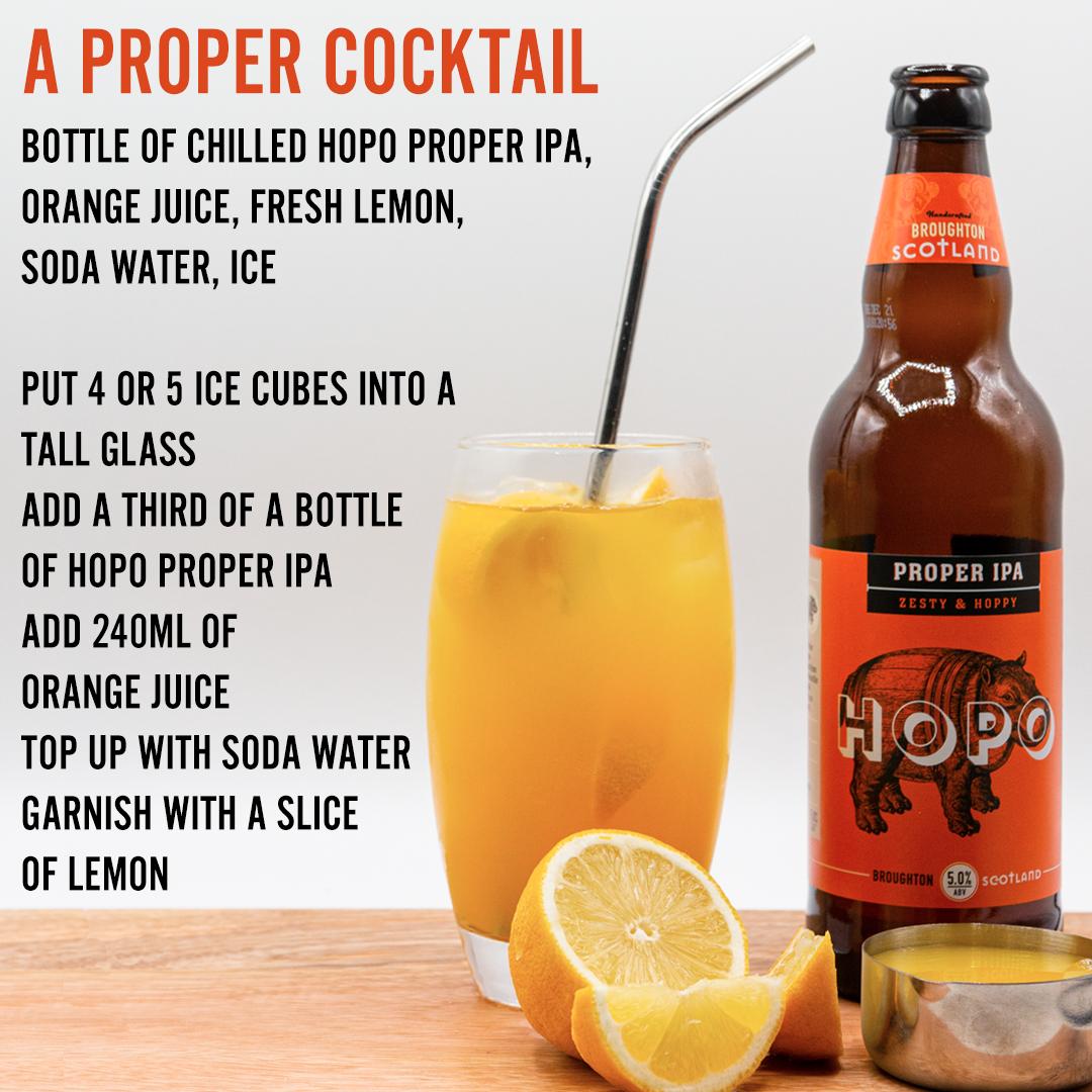 a proper cocktail