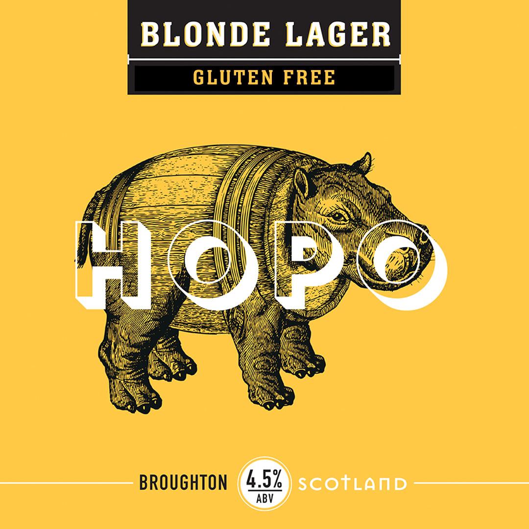 gluten free blonde lager