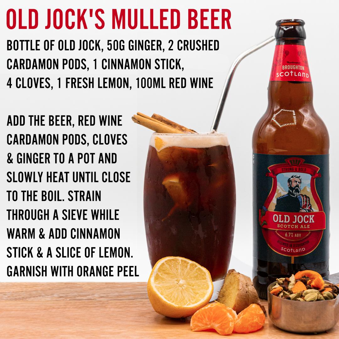 old jock mulled beer