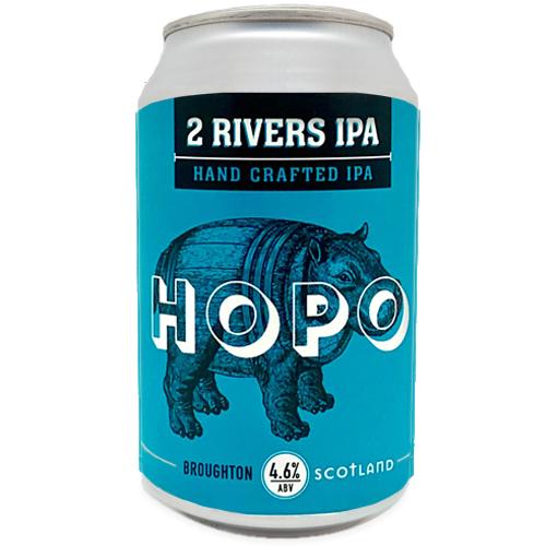 HOPO 2 RIVERS IPA CANS (12)